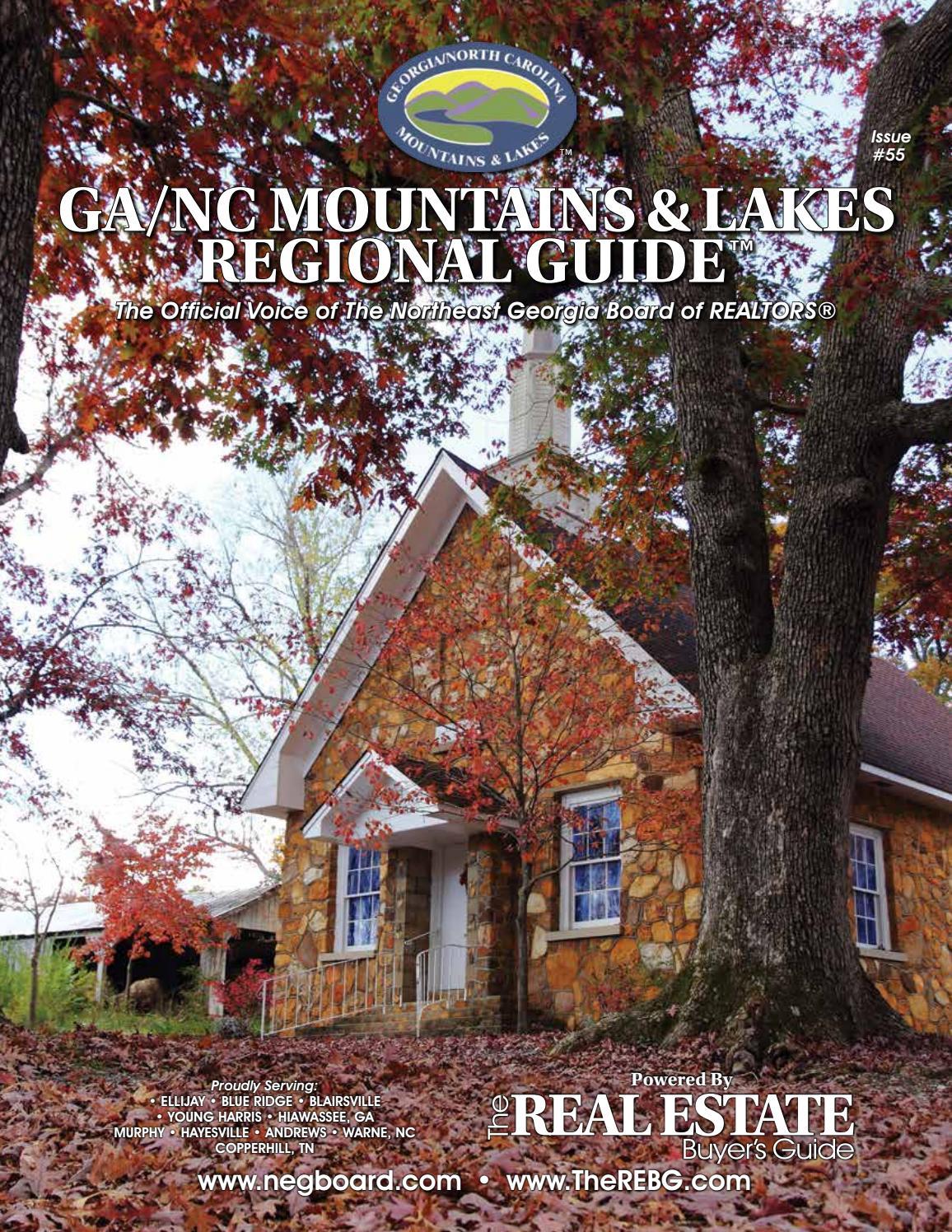 Ga Nc Mountains Lakes Regional Guide 55 By R Issuu