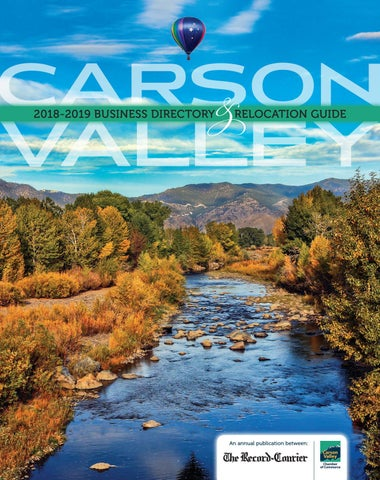 2018 Carson Valley Businsses Directory By Snmg Interactive Issuu