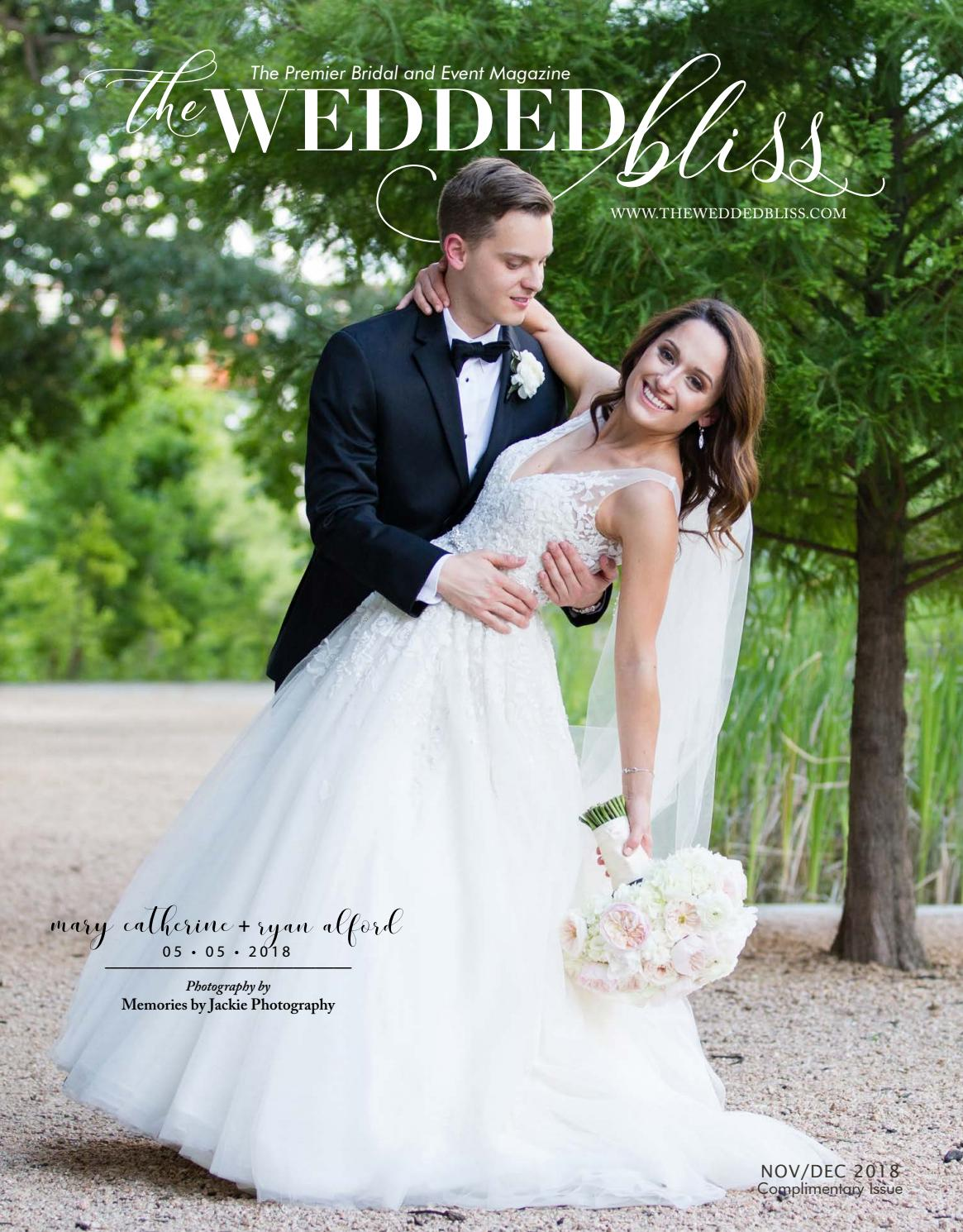 The Wedded Bliss November/December 2018 by The Wedded Bliss - issuu