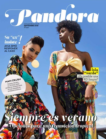 e30fd412b3 Revista Pandora Septiembre 2018 by Multimedios del Caribe - issuu