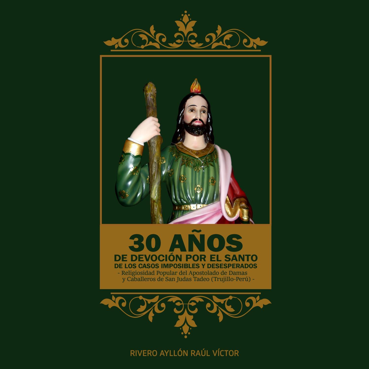Diseño Editorial Libro De San Judas Tadeo By Huayno Comunicación