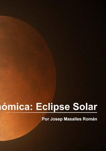 Page 111 of Fotografía Astronómica: Eclipse Solar