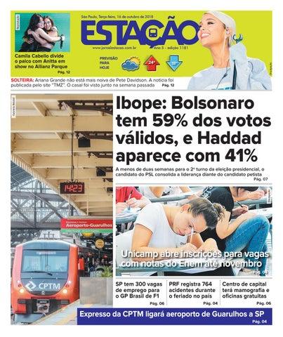 eb489a3c72d01 Jornal Estação de 16 10 2018 - Ed. 1181 by Jornal Estação - issuu