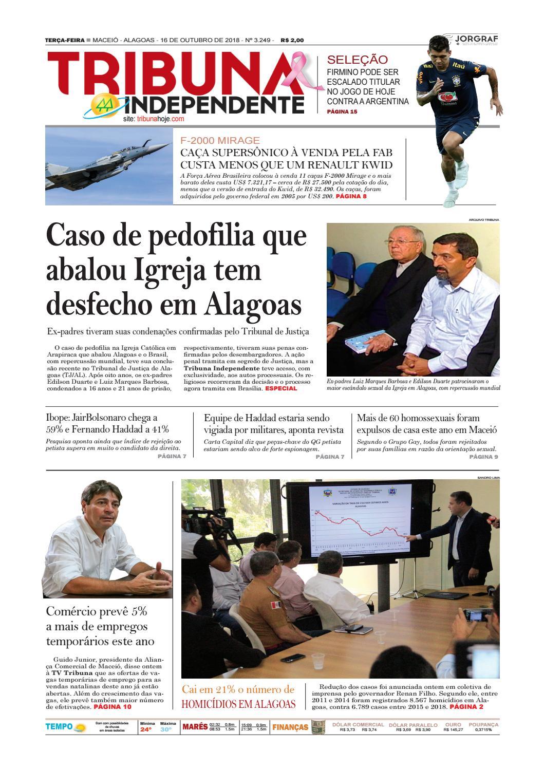 Edição número 3249 - 16 de outubro de 2018 by Tribuna Hoje - issuu 266b77dcf161b
