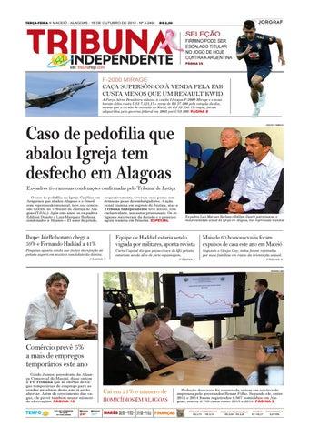 TERÇA-FEIRA n MACEIÓ - ALAGOAS - 16 DE OUTUBRO DE 2018 - Nº 3.249 - 382503455d