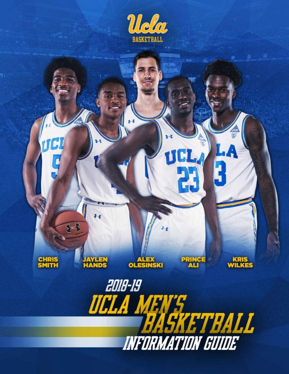 2018-19 UCLA Men s Basketball Information Guide by UCLA Athletics - issuu 42edde8d3