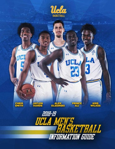 75a5b0b08 2018-19 UCLA Men s Basketball Information Guide by UCLA Athletics ...