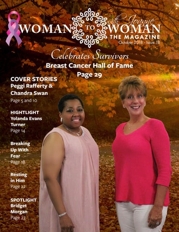 Woman To Woman With Joanne The Magazine October 2018