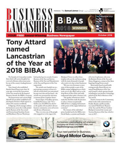 0fdf249cd5565 Business Lancashire October 2018 by The Samuel James Group - issuu