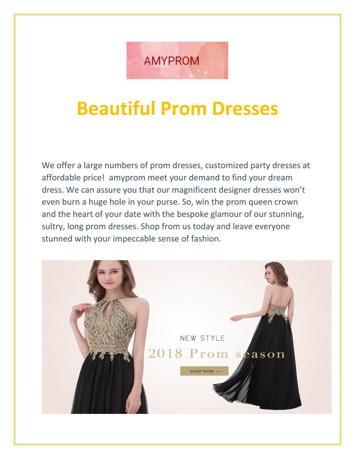 Beautiful Prom Dresses - Amyprom