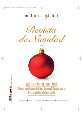 6f800dcb1eb Revista de Navidad 2017 by Mallorca Global ediciones - issuu