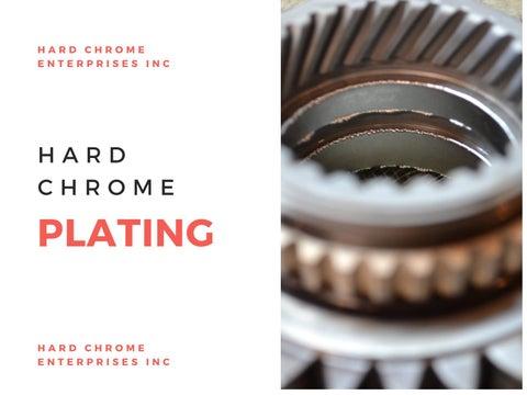 Hard Chrome Enterprise INC - Issuu