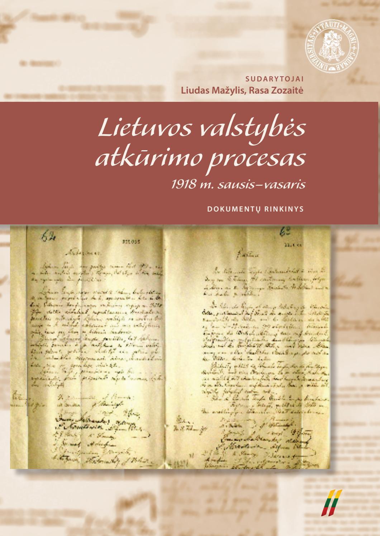 Lietuvos Valstyb S Atk Rimo Procesas II Tomas By Vytautas