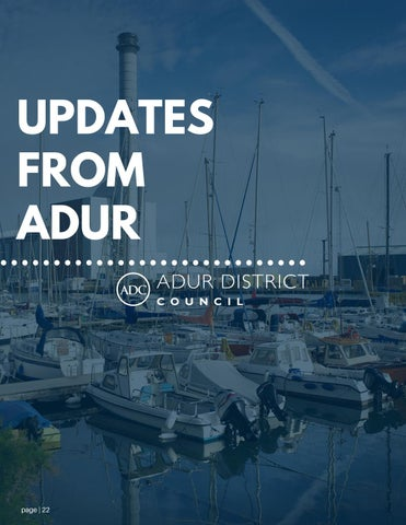 Page 22 of The latest development updates from Adur