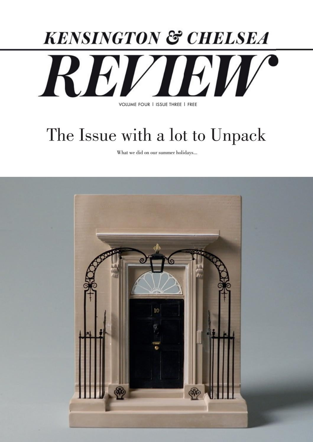2a49cea4acacae Kensington and Chelsea Review - Unpack Issue - Autumn 2018 by Kensington  and Chelsea Review - issuu