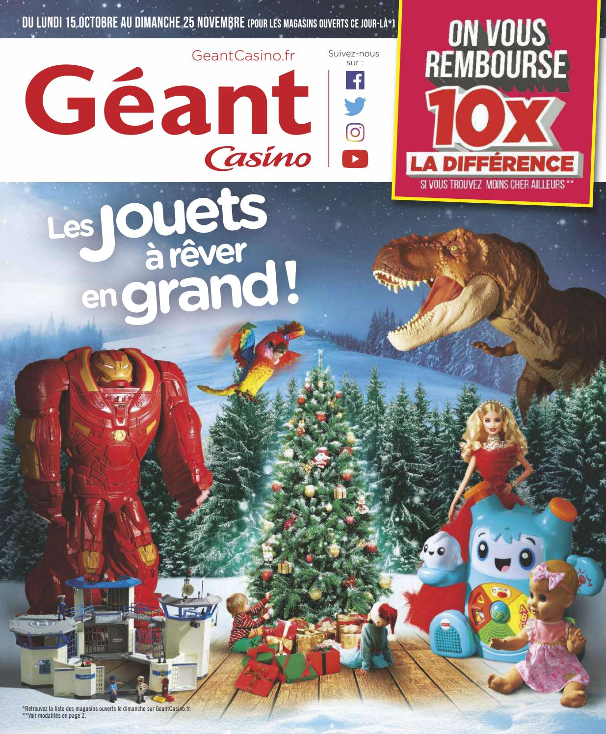 Catalogue Jouets Noel 2018 Geant Casino By Yvernault Issuu