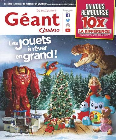Noël Géant Yvernault Jouets Catalogue 2018 Casino Issuu By w0OknP8