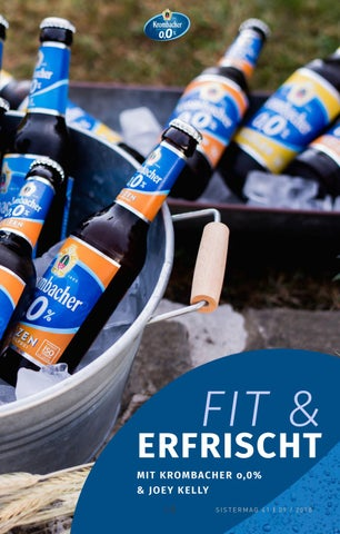 Page 15 of Fit & erfrischt mit Krombacher o,0% & Joey Kelly
