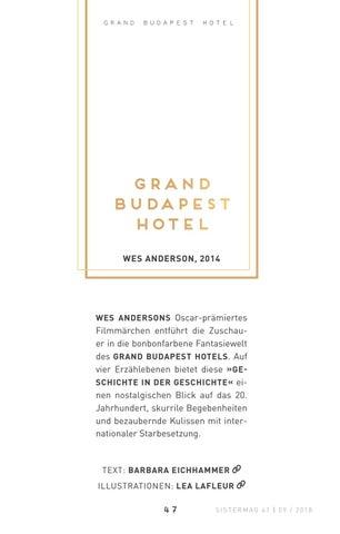 Page 47 of Die Welt von gestern - der Einfluss Stefan Zweigs auf »Grand Budapest Hotel«