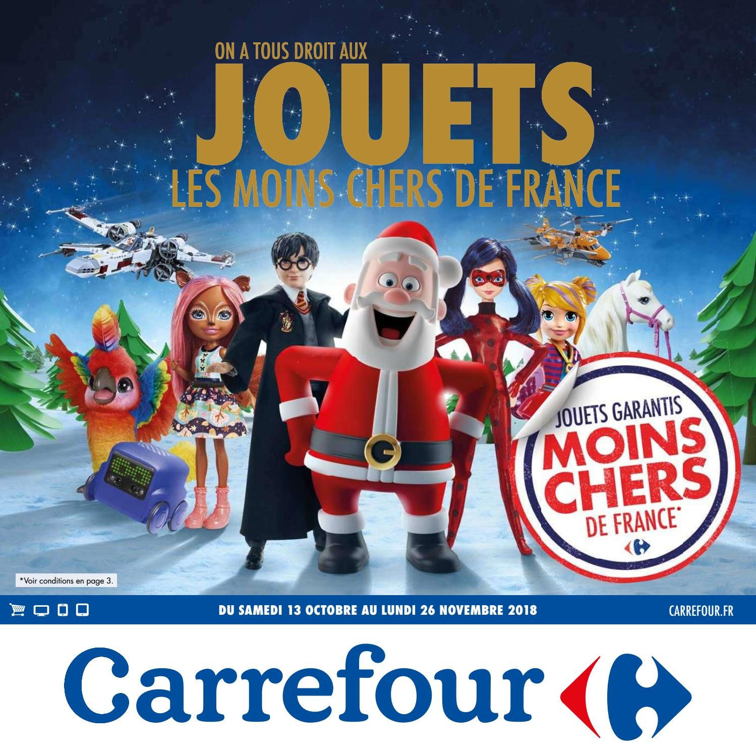Catalogue jouets Noël 2018 - Carrefour by