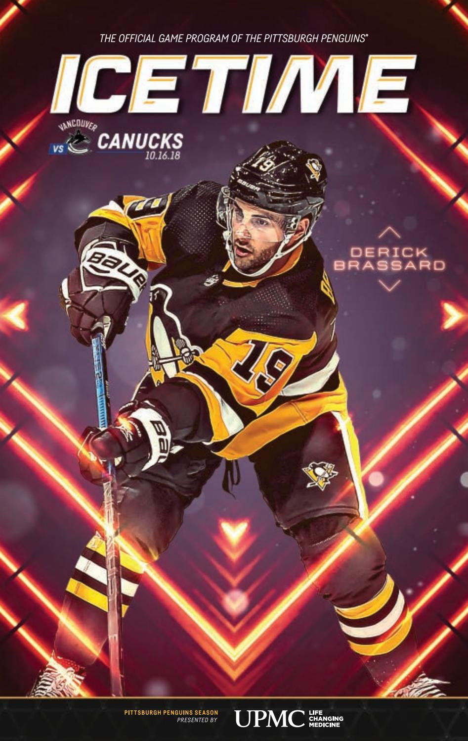 75a36e89fd4 IceTime - Game 4 vs. Vancouver 10.16.18 by Pittsburgh Penguins - issuu