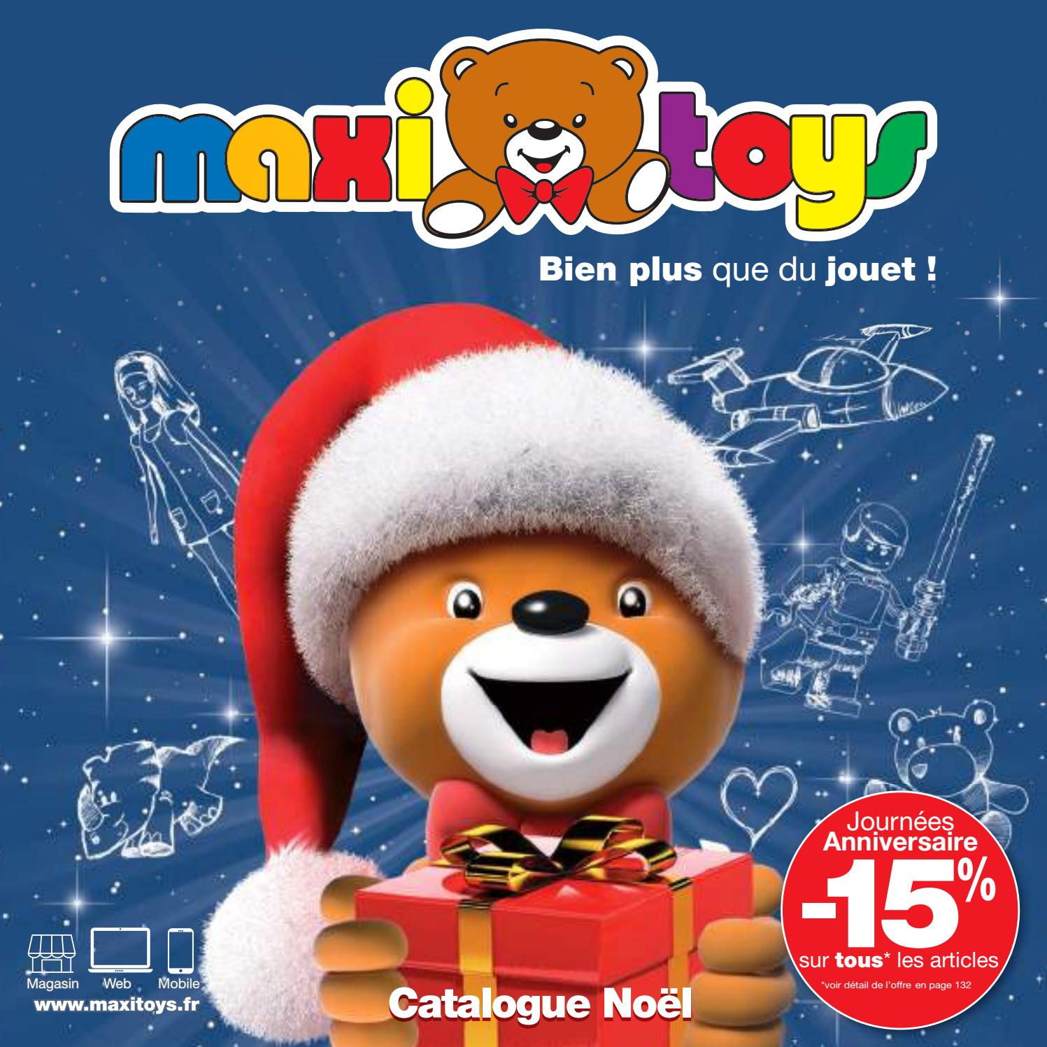 Catalogue jouets Noël 2018 - Maxi Toys by Yvernault - issuu 7309213cf061