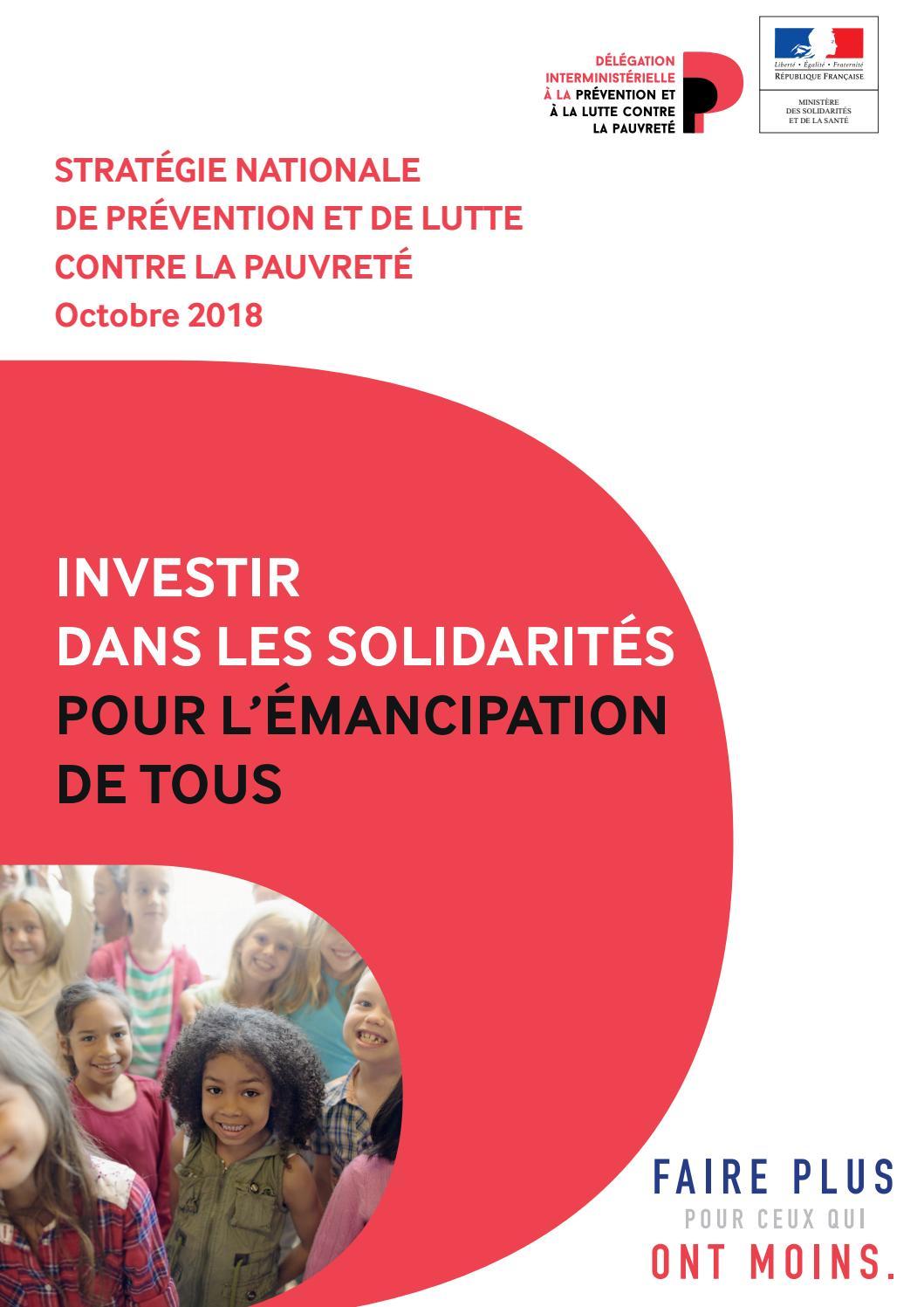 9b124139365aa2 Stratégie nationale de prévention et de lutte contre la pauvreté by  Ministères sociaux - issuu