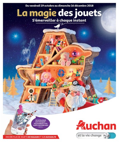 6da93915508 Catalogue jouets Noël 2018 - Auchan by Yvernault - issuu