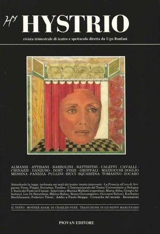 Hystrio 1988 3 luglio-settembre by Hystrio - issuu 63025c15aa1