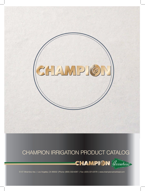 CHAMPION Side Strip Sprinkler Nozzle 16/' Radius 2-Pack 15SS-C NEW