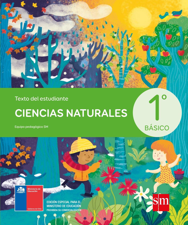 Libro de estudio de las ciencias naturales para primero