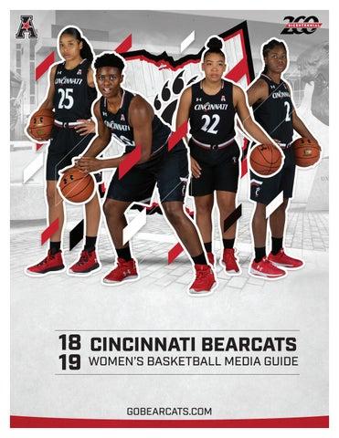 569a1e9ae8ed University of Cincinnati Women s Basketball 2018-19 Media Guide by ...