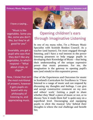 Page 10 of Opening children's ears through Imaginative Listening