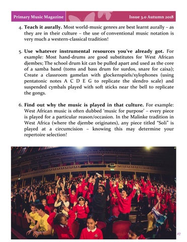 Page 27 of Ten Top Tips for Teaching World Music