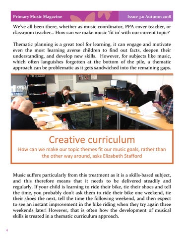 Page 4 of Creative Curriculum