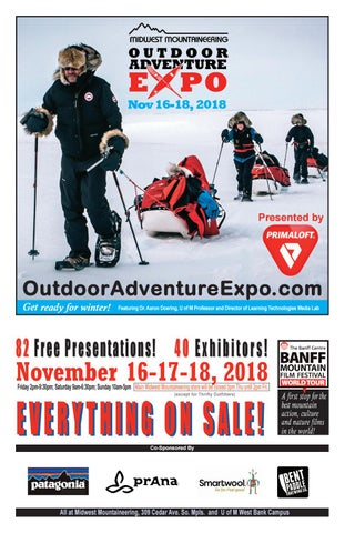 116b6d64b3 Spring 2018 outdoor adventure expo by Midwest Mountaineering - issuu
