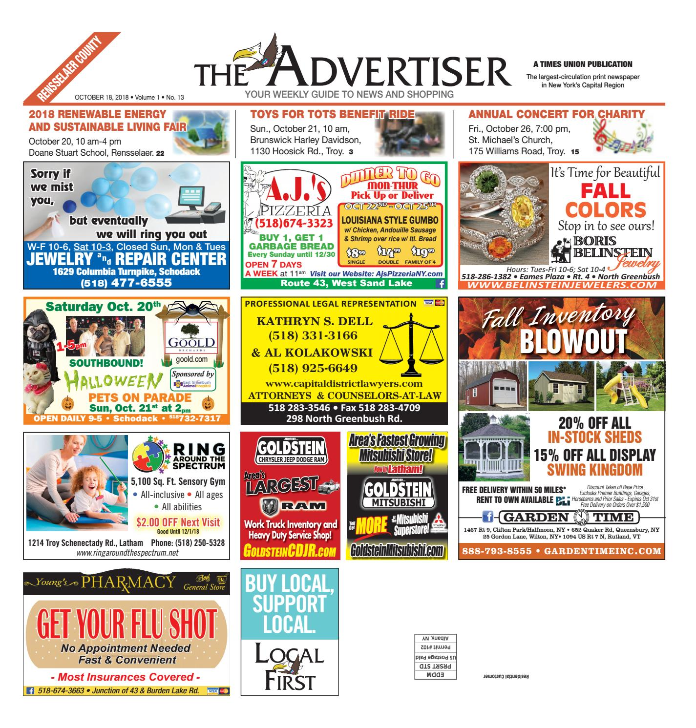 Local First The Advertiser 101818