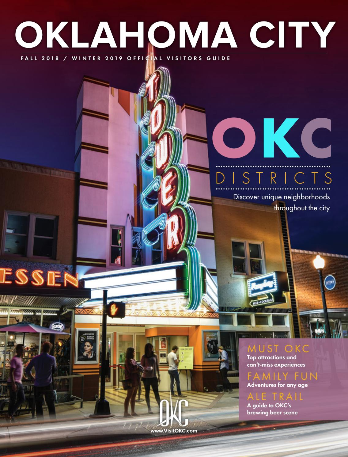 Oklahoma City Fall 2018 Winter 2019 Official Visitors