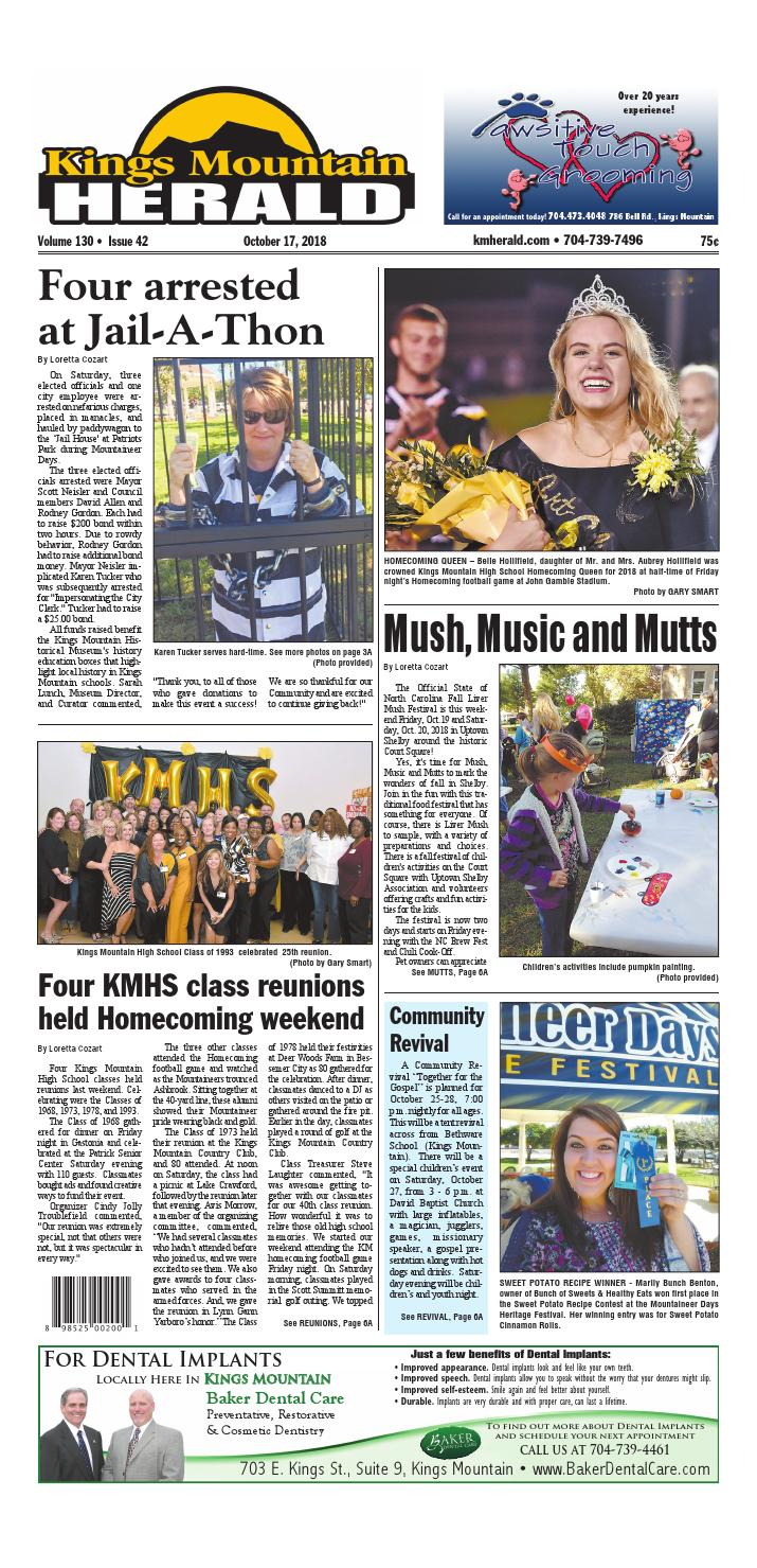 Kings Mountain Herald 10-17-18 by Community First Media - issuu
