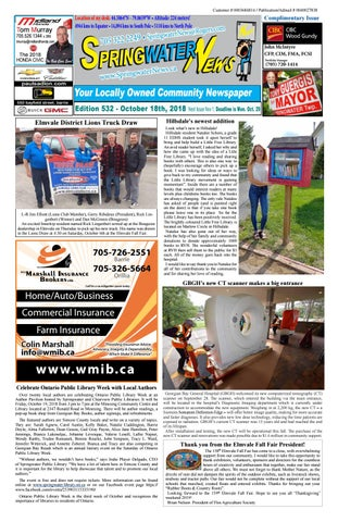 the latest e48ea 23a68 Spingwater ews October8 2018 Ed 532 by Springwater News - issuu