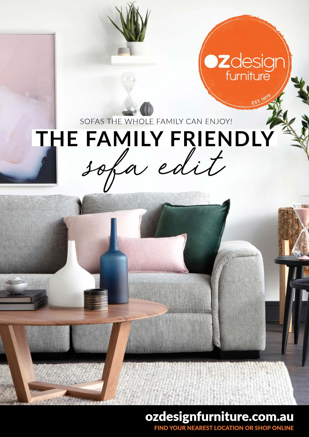 The family friendly sofa edit by oz design furniture by oz design furniture issuu