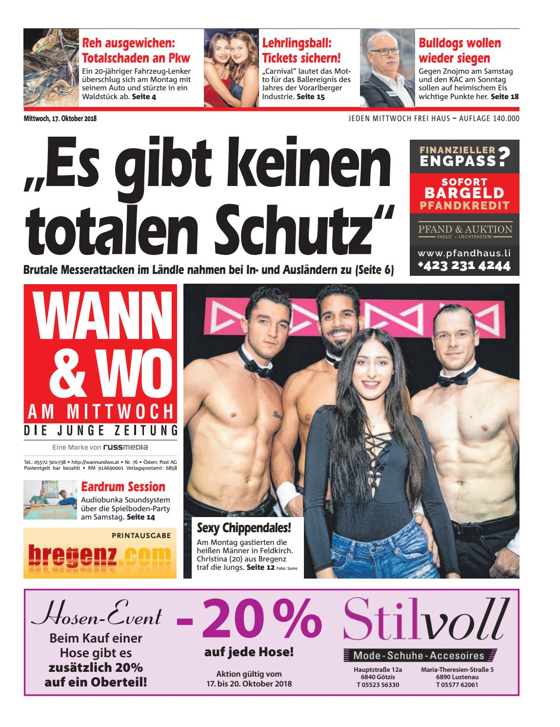 Singles Feldkirch, Kontaktanzeigen aus Feldkirch bei