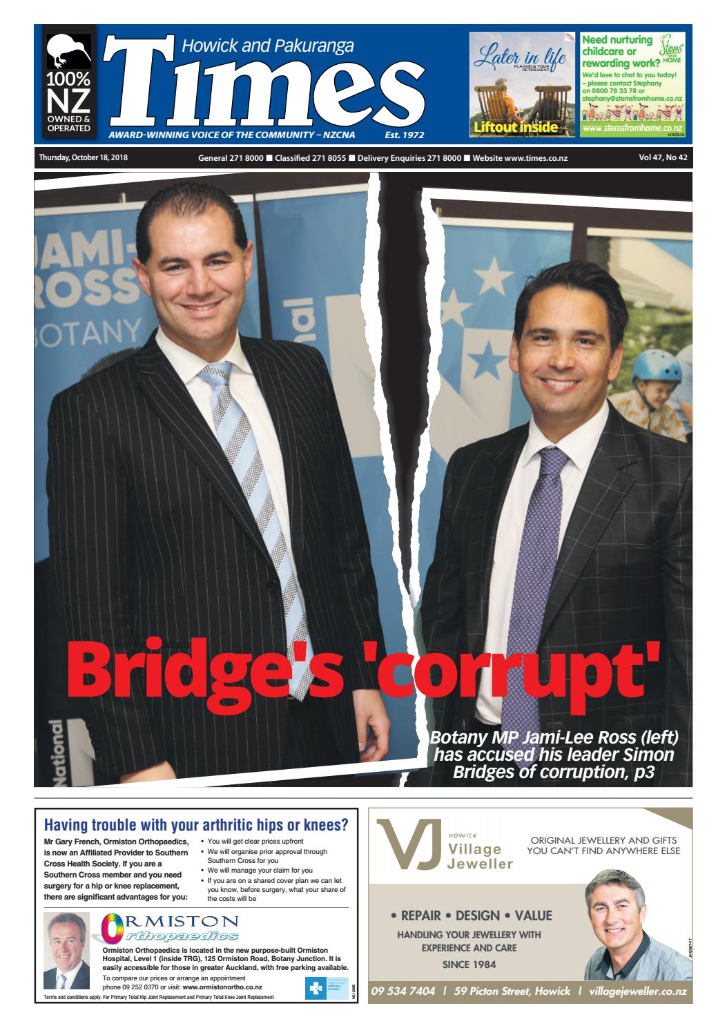 Howick and Pakuranga Times, Thursday, October 18, 2018 by Times