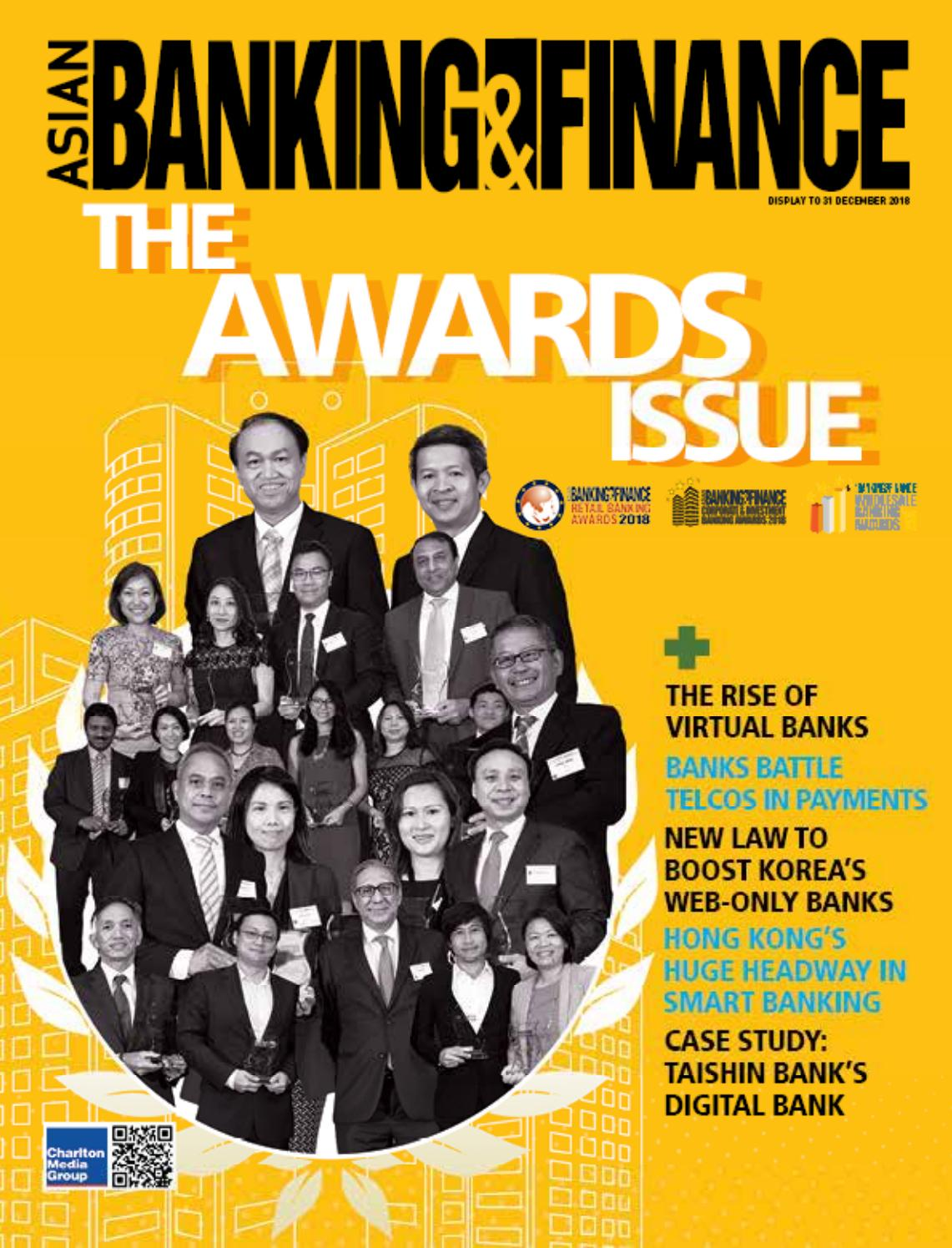 Asian Banking & Finance (October - December 2018) by Charlton Media