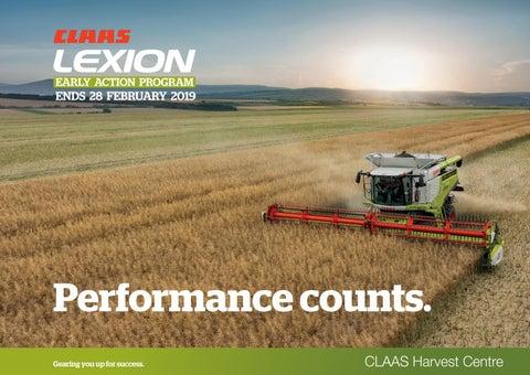 CLAAS Harvest Centre - LEXION 2018-2019 Brochure by CLAAS