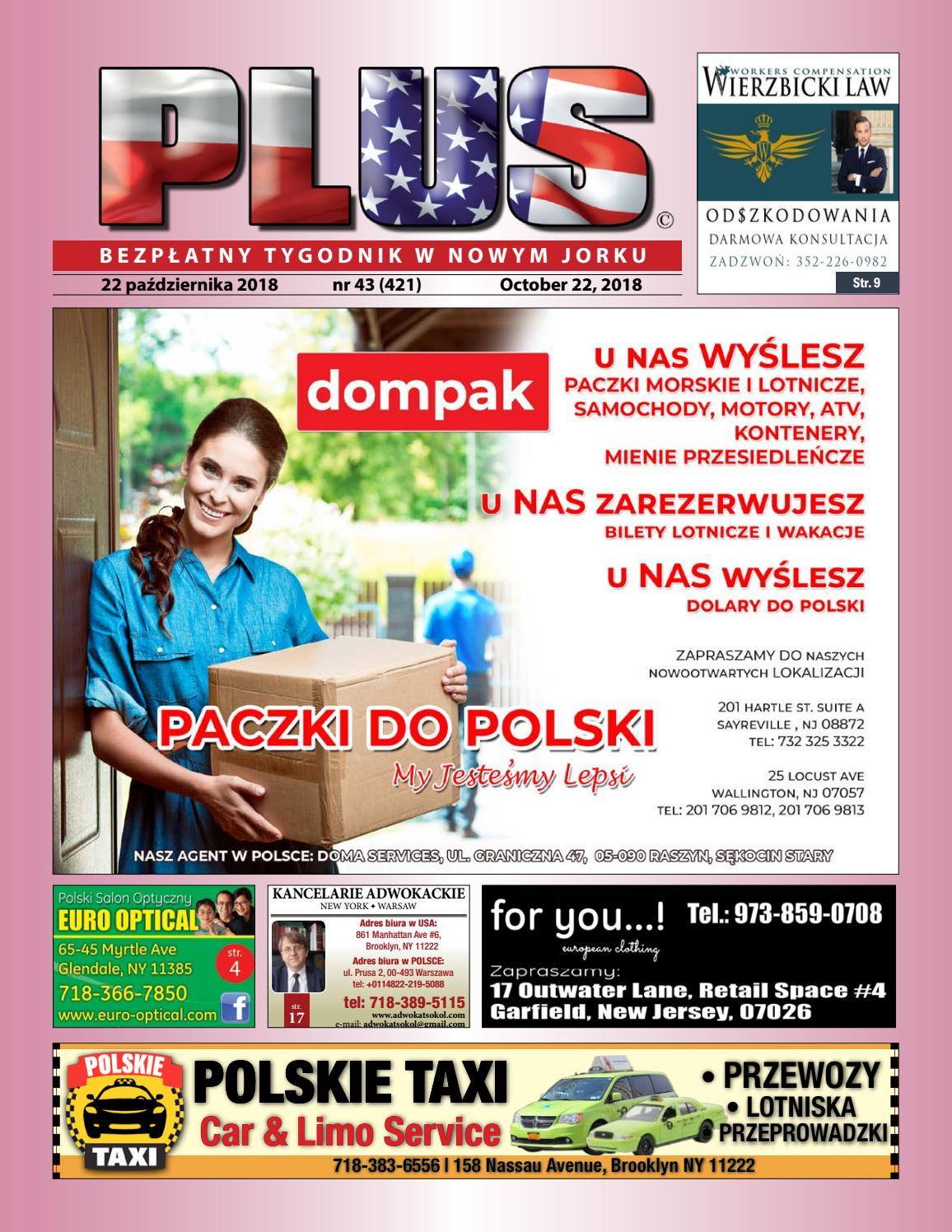 26174f1d377e0c Najnowszy numer tygodnika PLUS w Nowym Jorku. by PLUS Media Group - issuu