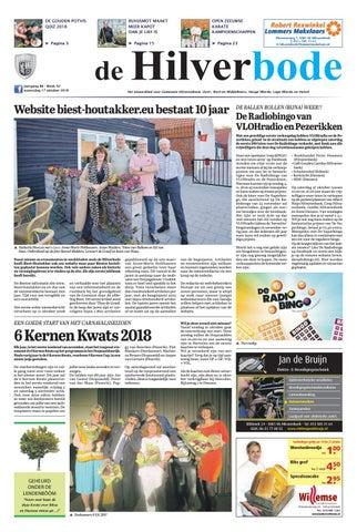 14037842dce De Hilverbode 17-10-2018 by Uitgeverij Em de Jong - issuu