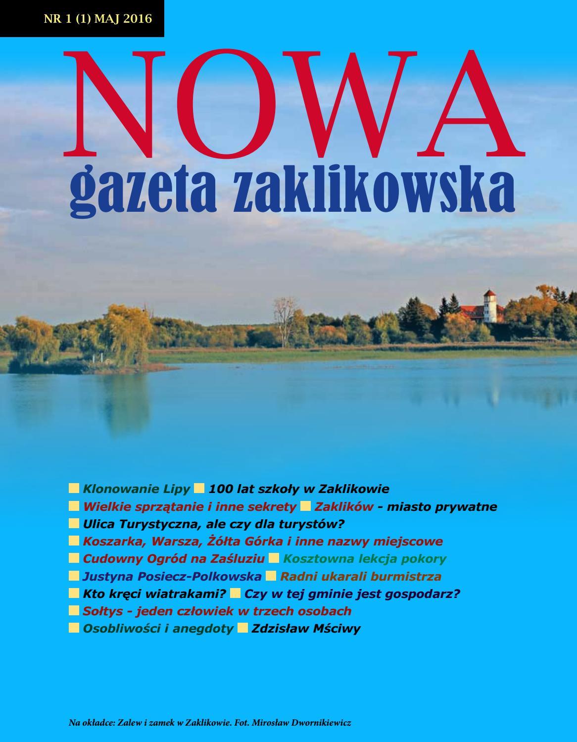 Nowa Gazeta Zaklikowska Nr 11 By Nowagazetazaklikowska Issuu