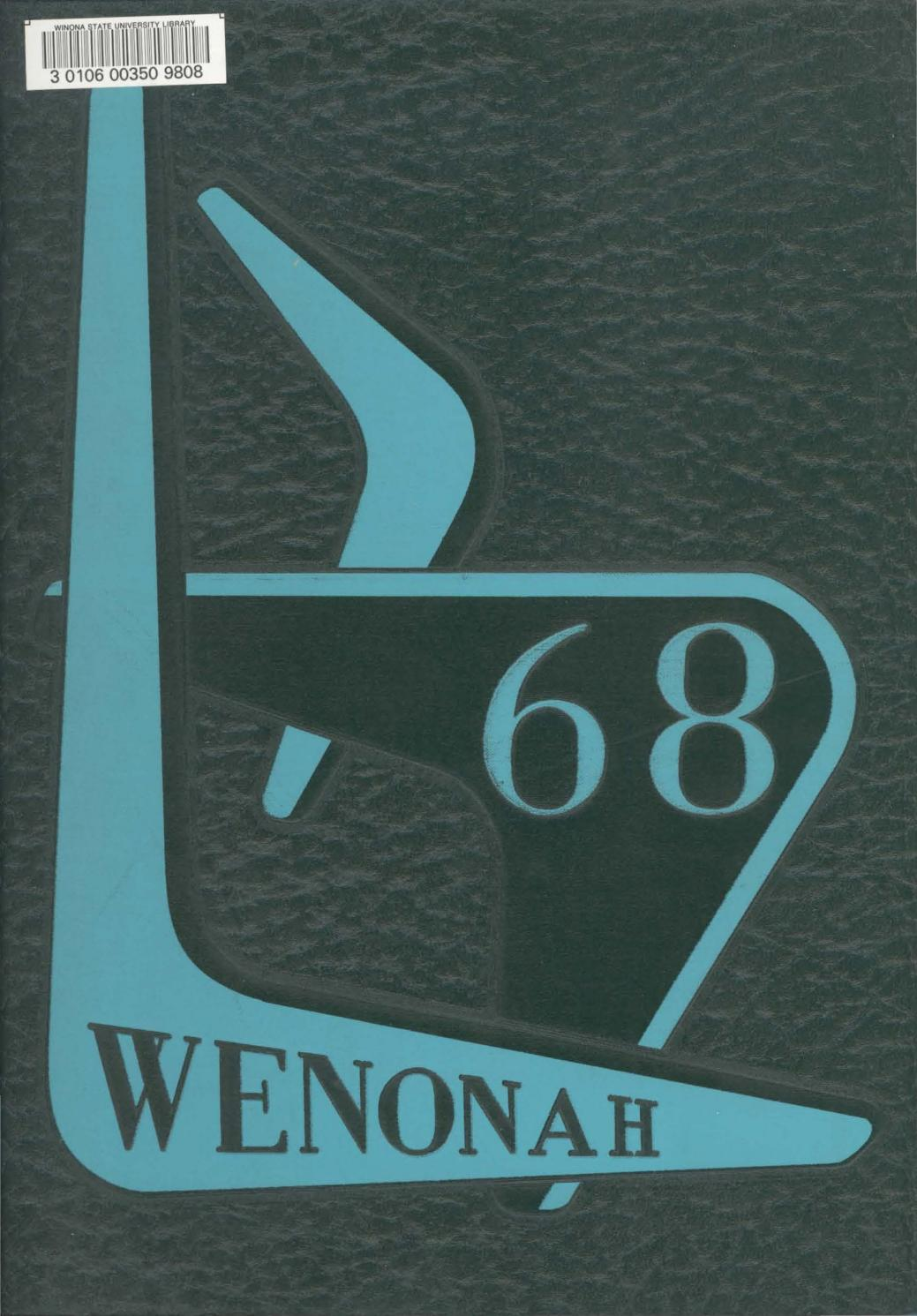 Wenonah Yearbook 1968 By Wsuopenriver Issuu