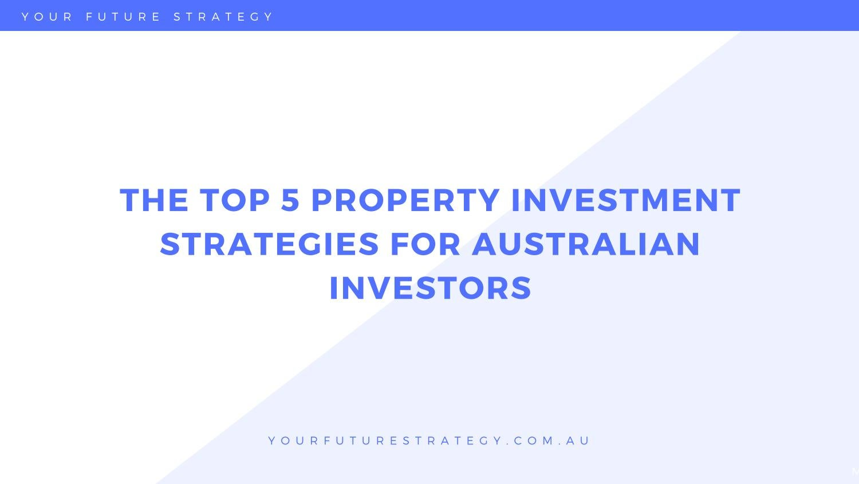 tax effective investment strategies australia map